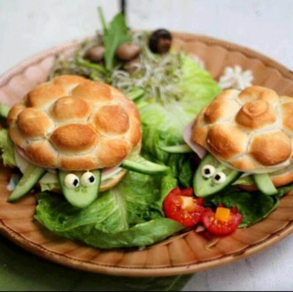 creative food ideas 100 quick easy lunch dinner cute burger taazatadka