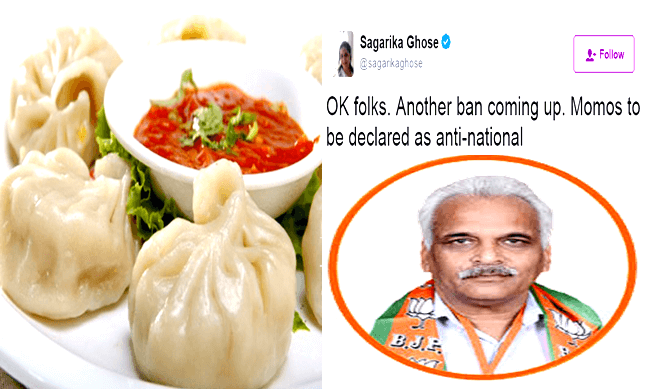 After Beef, BJP Now Wants a Ban on Momos, People Slams on Twitter