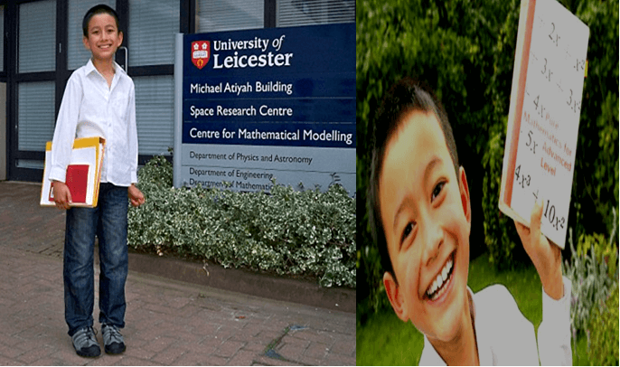 14 Year Old Muslim Boy Yasha, Youngest Math Teacher at University of Leicester in UK