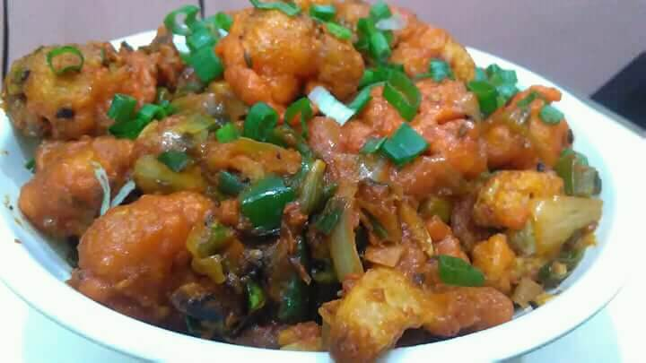 Yummy Chicky Tasty Dry and Crispy Gobhi Manchurian Recipe