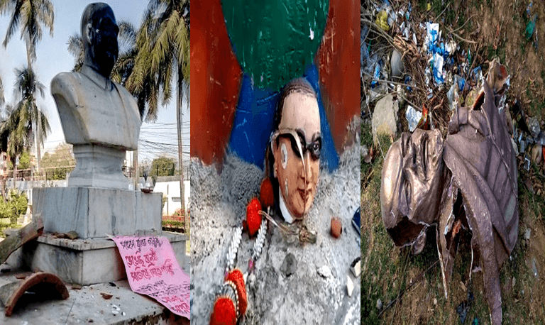 Statue Vandalism or Political Vendetta – A Fight Within
