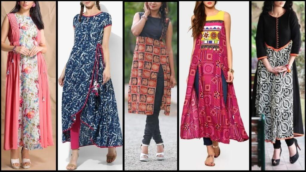 Latest Long Kurti Designs and Patterns for Ladies