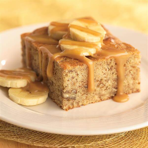 homemade banana cake recipe