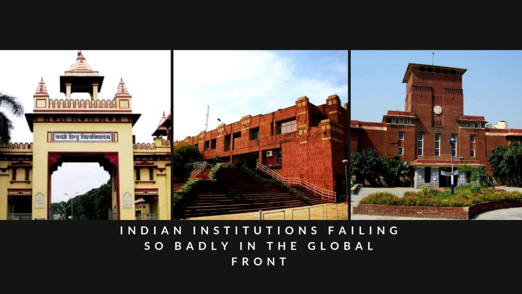 No Indian University Among Times Top 250 Higher Education Rank 2019