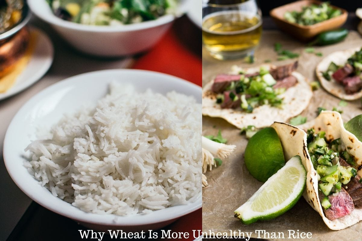 Reasons Why Wheat Is More Unhealthy Than Rice