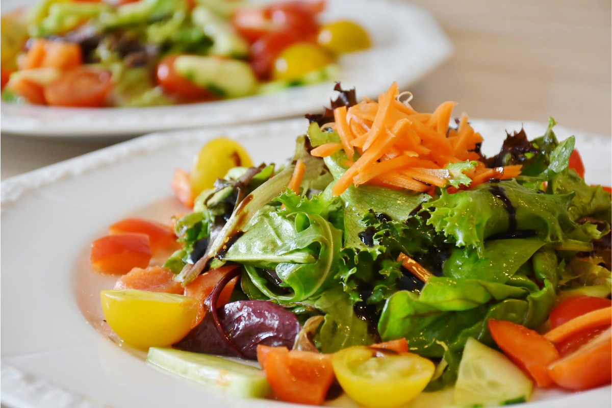 Healthy Breakfast Which Will Make You More Slim Trim salad